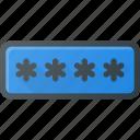 interface, password, security, ui