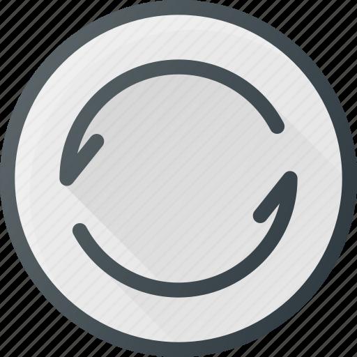 interface, refresh, ui, user icon