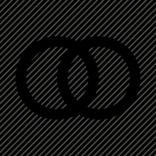 combine, design, layer, mastercard, merge, union icon