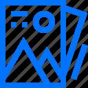 image, interface, media, photo icon