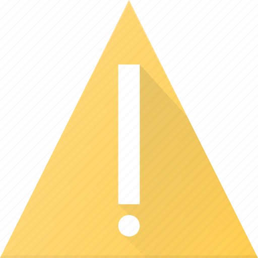 attention, ui icon