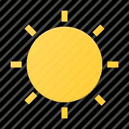 brightness, interface, ui icon