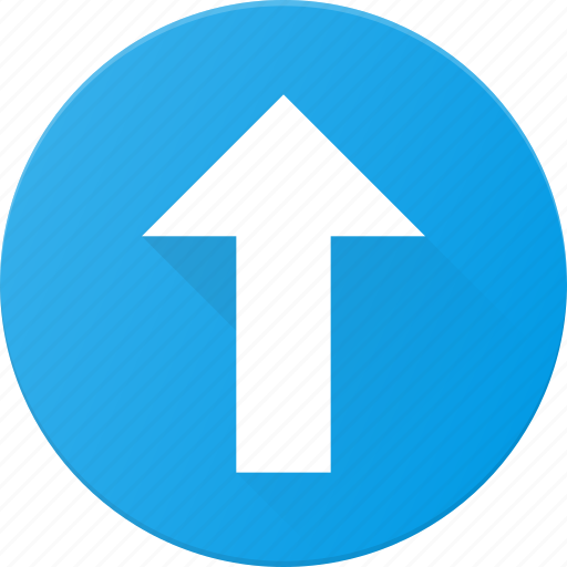 arrow, interface, navigate, ui, up, user icon
