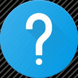 question, ui, user icon