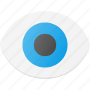 eye, interface, show, ui, user, view icon
