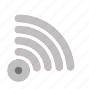 apps, interface, sign, tethering, user, wifi icon