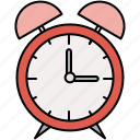 alarm, clock, interface, time icon