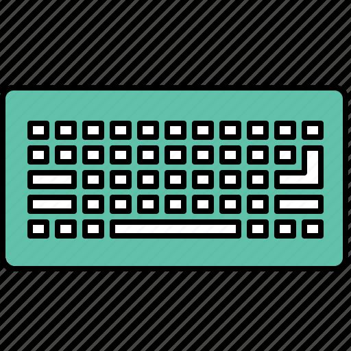 computer, interface, keyboard, type icon