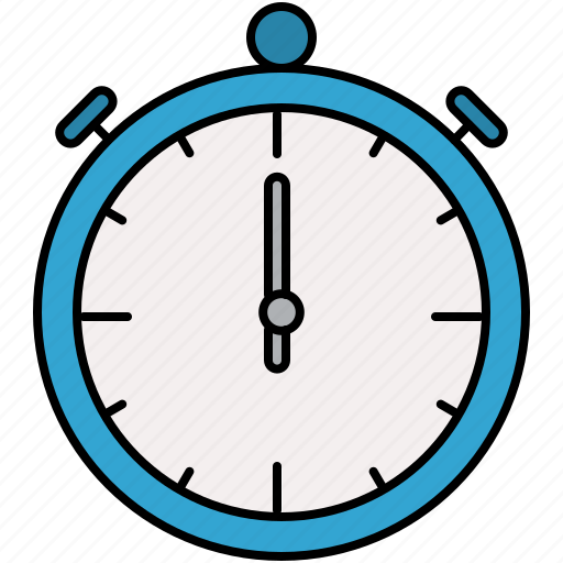 interface, stopwatch, time, timer icon