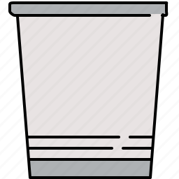 bin, email, interface, rubbish, trash icon