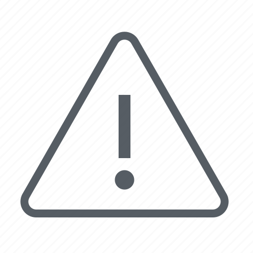 alarm, alert, attention, interface icon