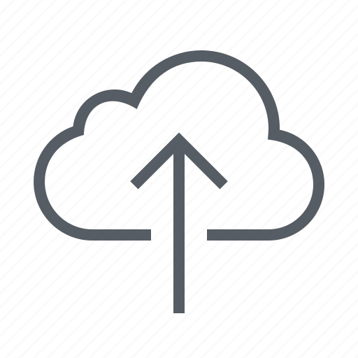 cloud, data, interface, save, upload icon