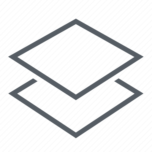 edit, interface, layers icon