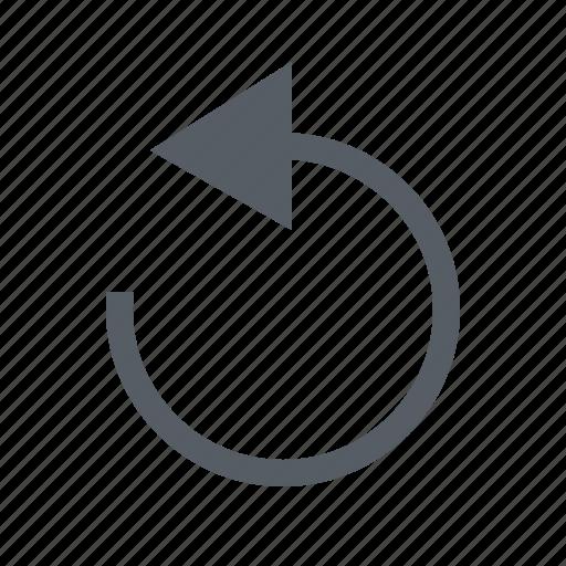 arrow interface replay icon