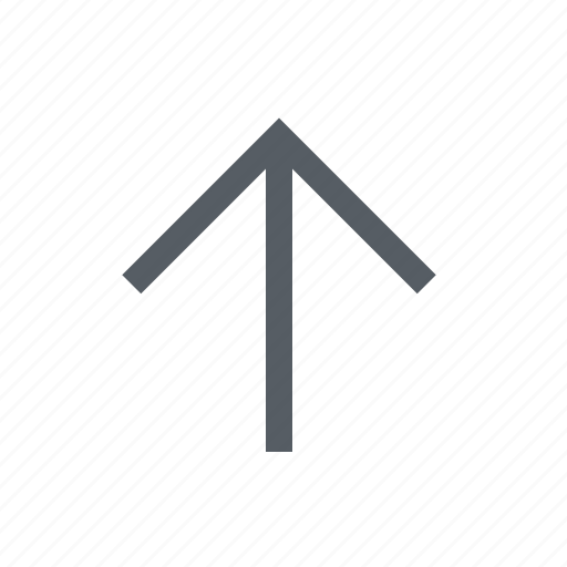 arrow, interface, up icon