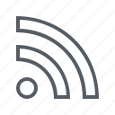 interface, rss, wifi, wireless icon