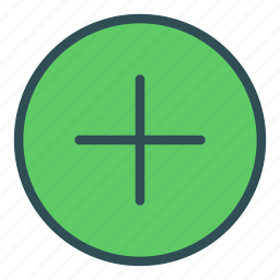 add, circle, plus, shape, sign icon