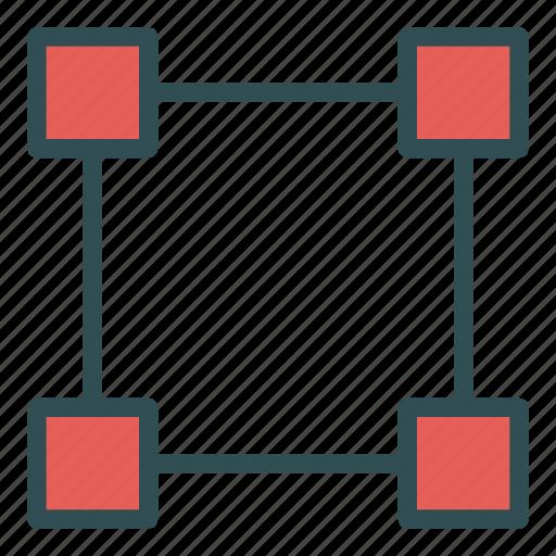 box, edit, tool icon