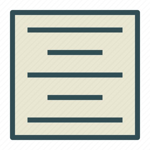 center, document, file, text icon