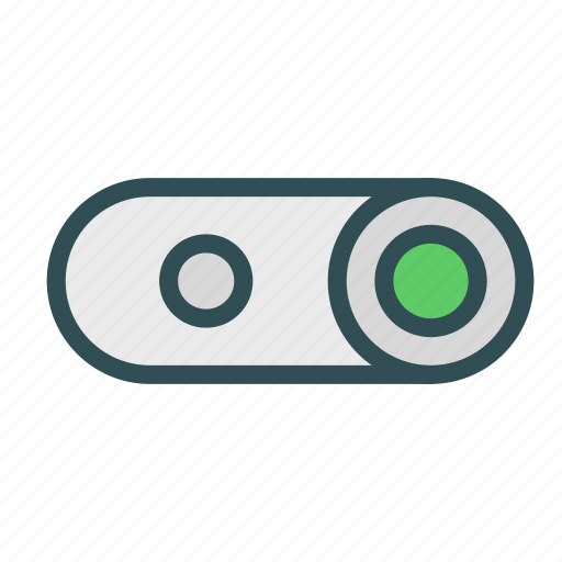 on, switch icon