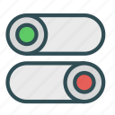 off, on, switch icon