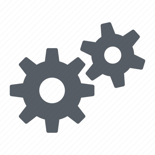 Cogs, gears, settings icon - Download on Iconfinder