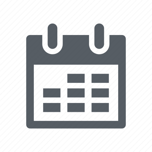 calendar, date, event, month, time icon