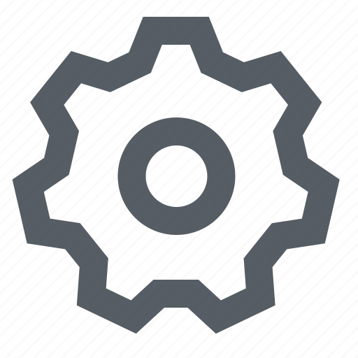 cog, gear, interface, settings icon