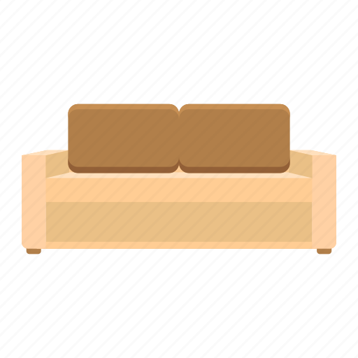 Couch, element, furniture, interior, pillow, room, sofa icon - Download on Iconfinder