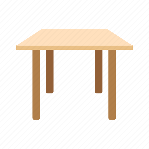 element, furniture, interior, table, wood, wooden icon
