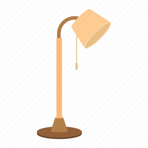 element, furniture, interior, lamp, light, room icon