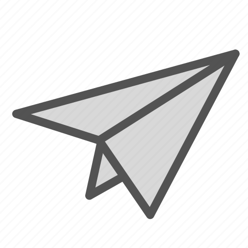airplane, forward, mail, paper, send icon