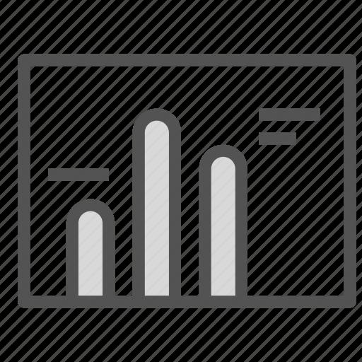 analysis, chart, report, statistics icon