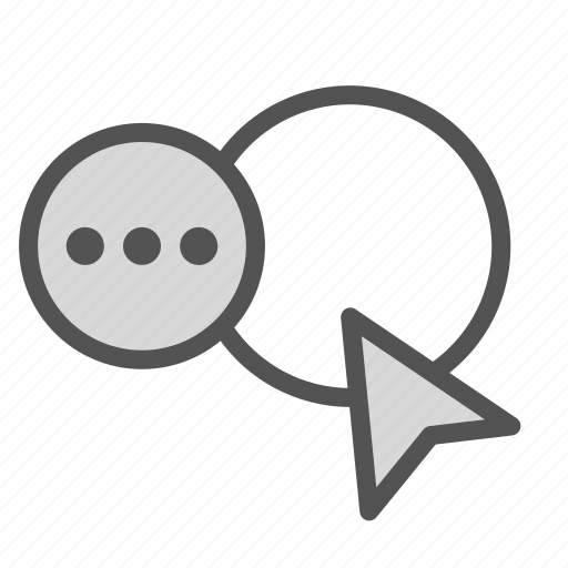 chat, coursor, frame, messenger, photo icon