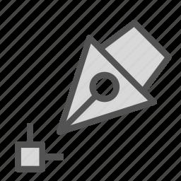 edit, pen, point, tool icon