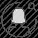 avatar, female, figure, search, user icon