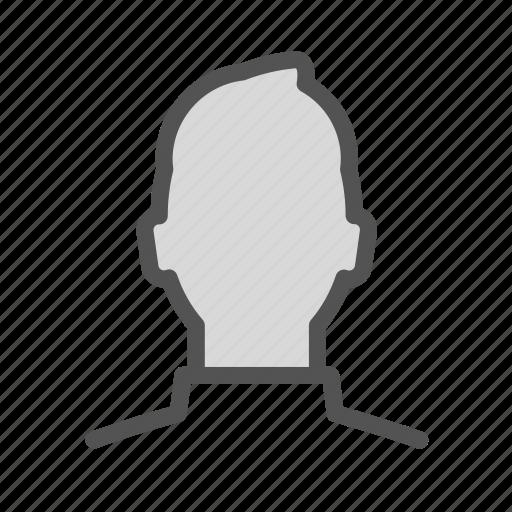 avatar, figure, man, photo icon