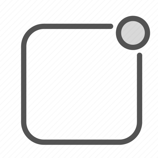 box, circle, rectangle, shape, square icon