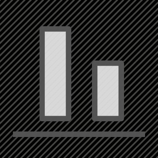 align, bottom, document, text icon