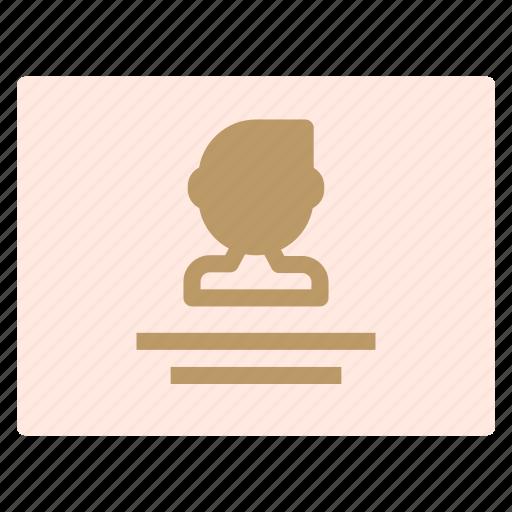 avatar, description, man, profile icon