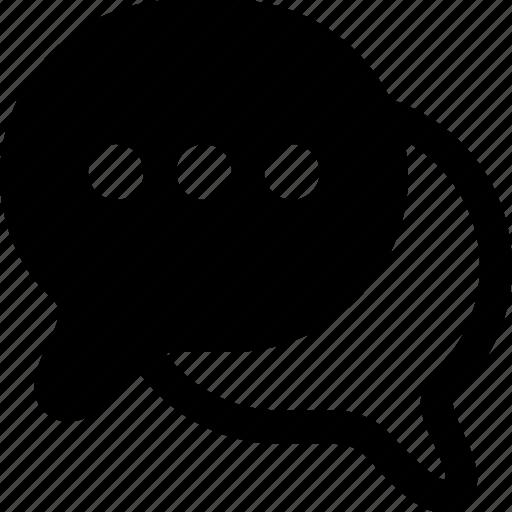 chat, comment, communication, conversation, interface, message icon