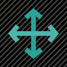 move, move window, navigate, scroll icon