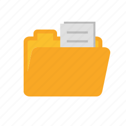 data, documents, file, folder, package, report, storage icon