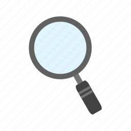 browse, find, internet, magnifier, magnifying glass, search, zoom icon