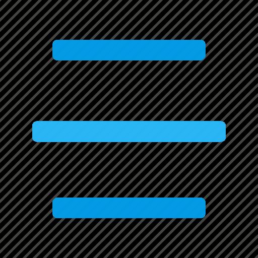 align, alignment, center, center align, center text, center text alignment, text icon