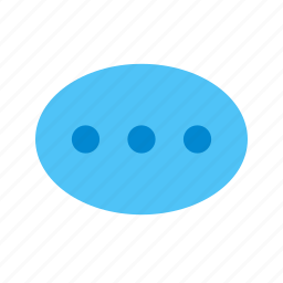 chat, chat bubble, connect, discuss, talk, type message, typing icon