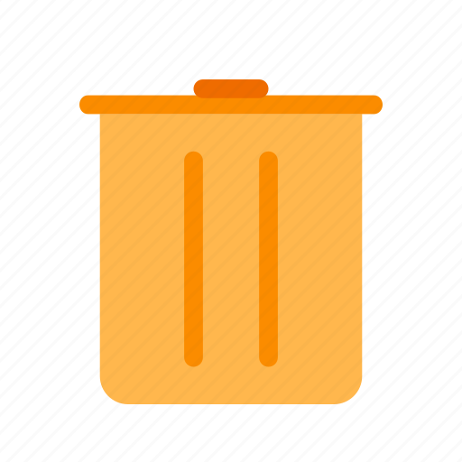 bin, delete, delete forever, recycle, recycle bin, remove, trash icon