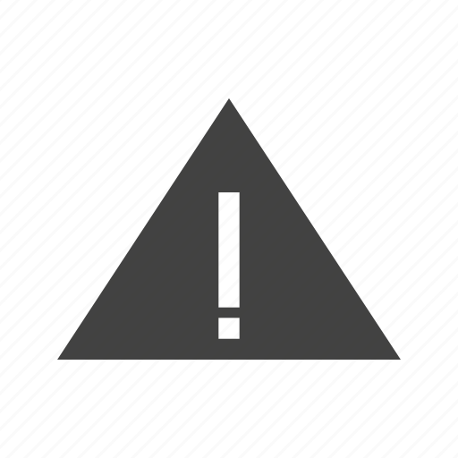 attention, caution, danger, exclamation, triangle, warning icon