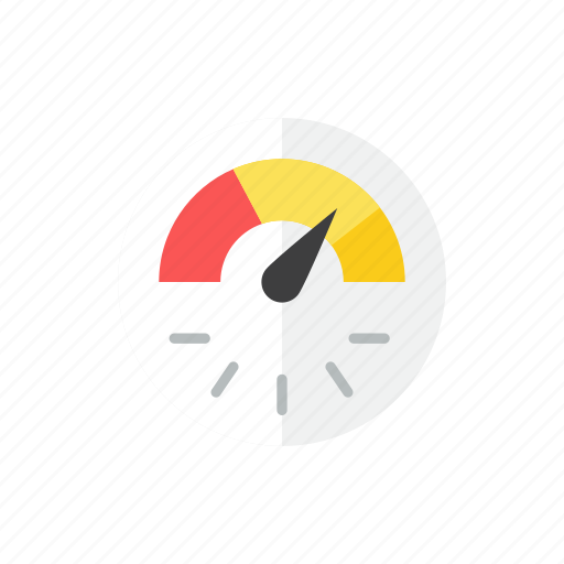 dashboard, speedometer icon