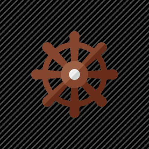 helm, ship icon